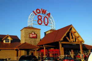 World's Largest Truck Stop! Iowa's Largest Glory Hole.